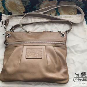 Coach Poppy Handbag, Authentic
